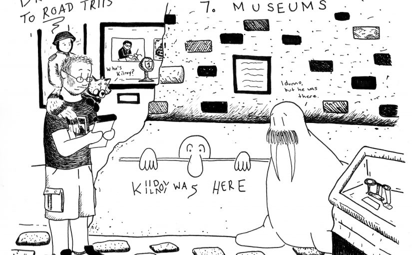 Drew's Steps to Road Trips: Museums