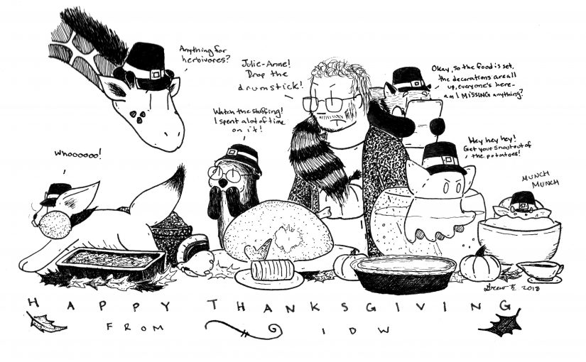 A Paw Pioneer Thanksgiving