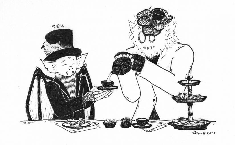 Gloomtober, Day 5 – Tea