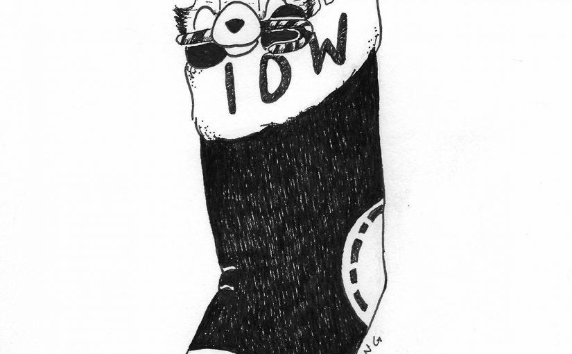 Doodcember, Day 22 – Stocking