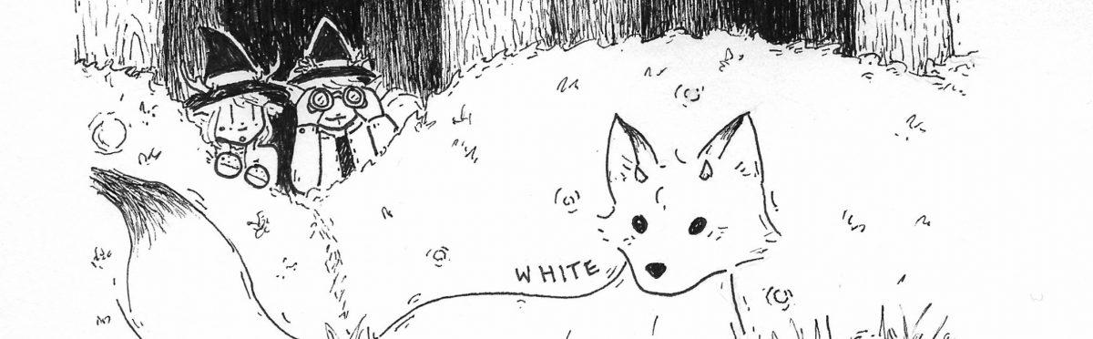 Witchtober, Days 20+21 – Fox/White