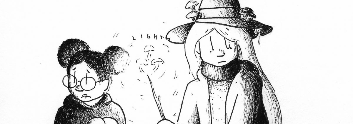 Witchtober, Day 12 – Light